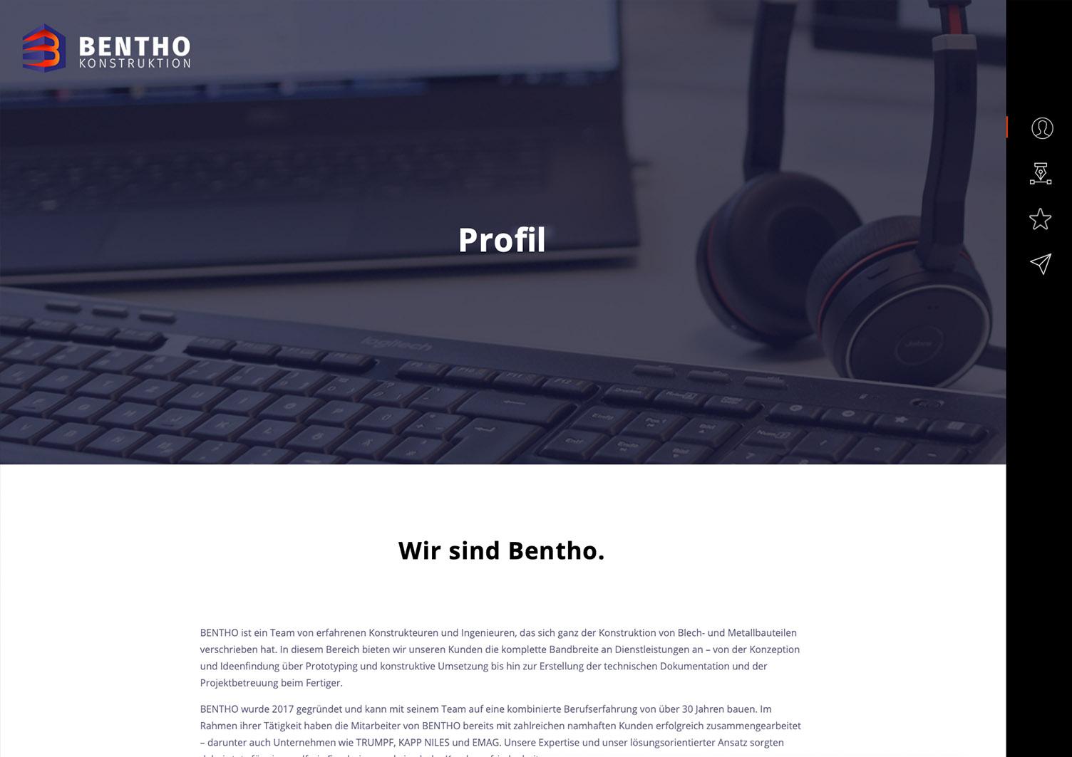 Web Design Bentho Berlin