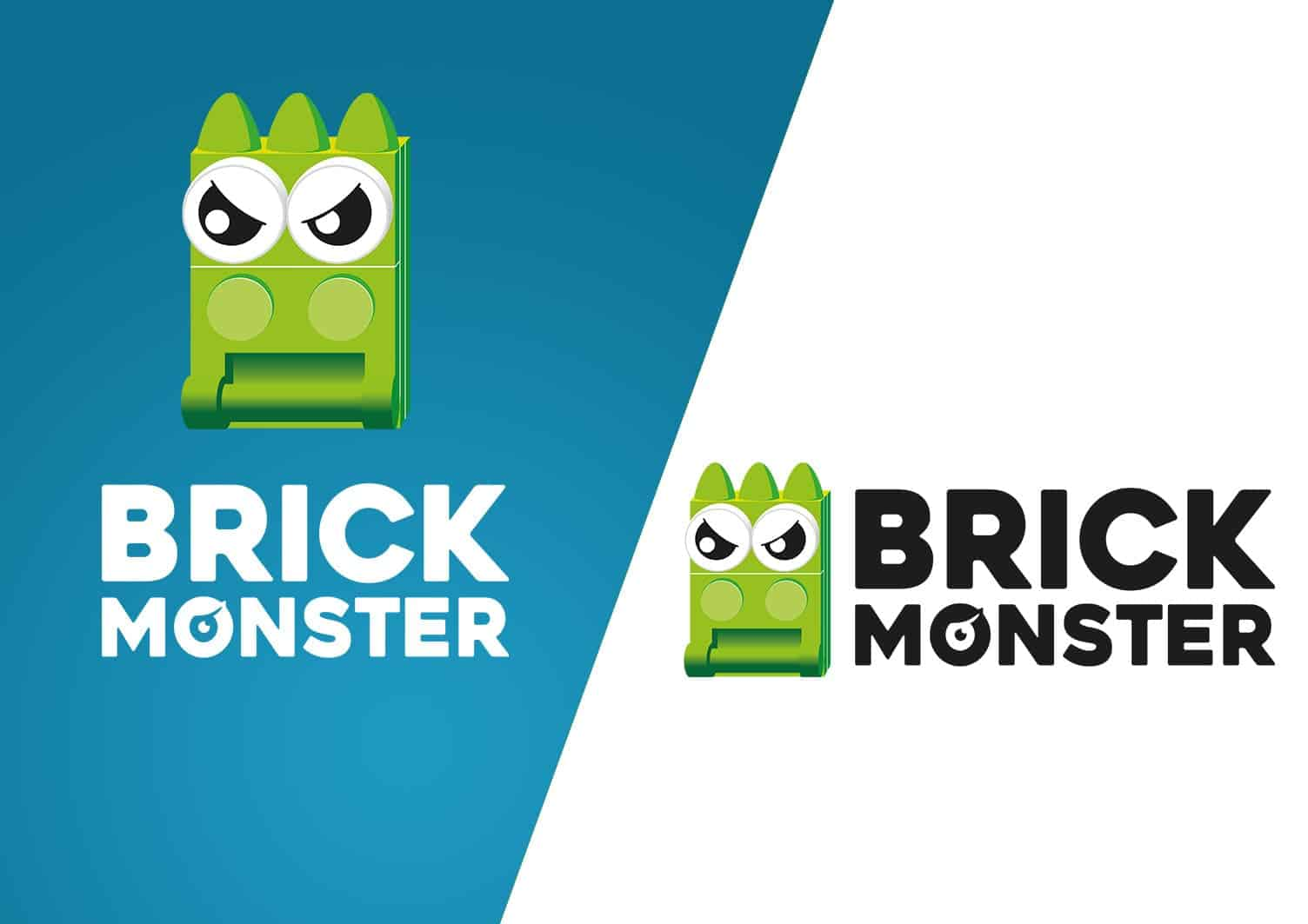 logo design berlin, brickmonster