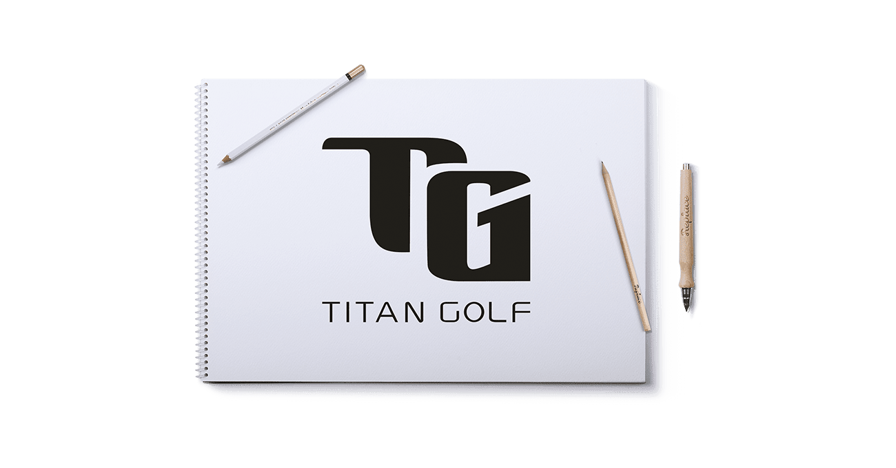 Logo Design Berlin Titan Golf