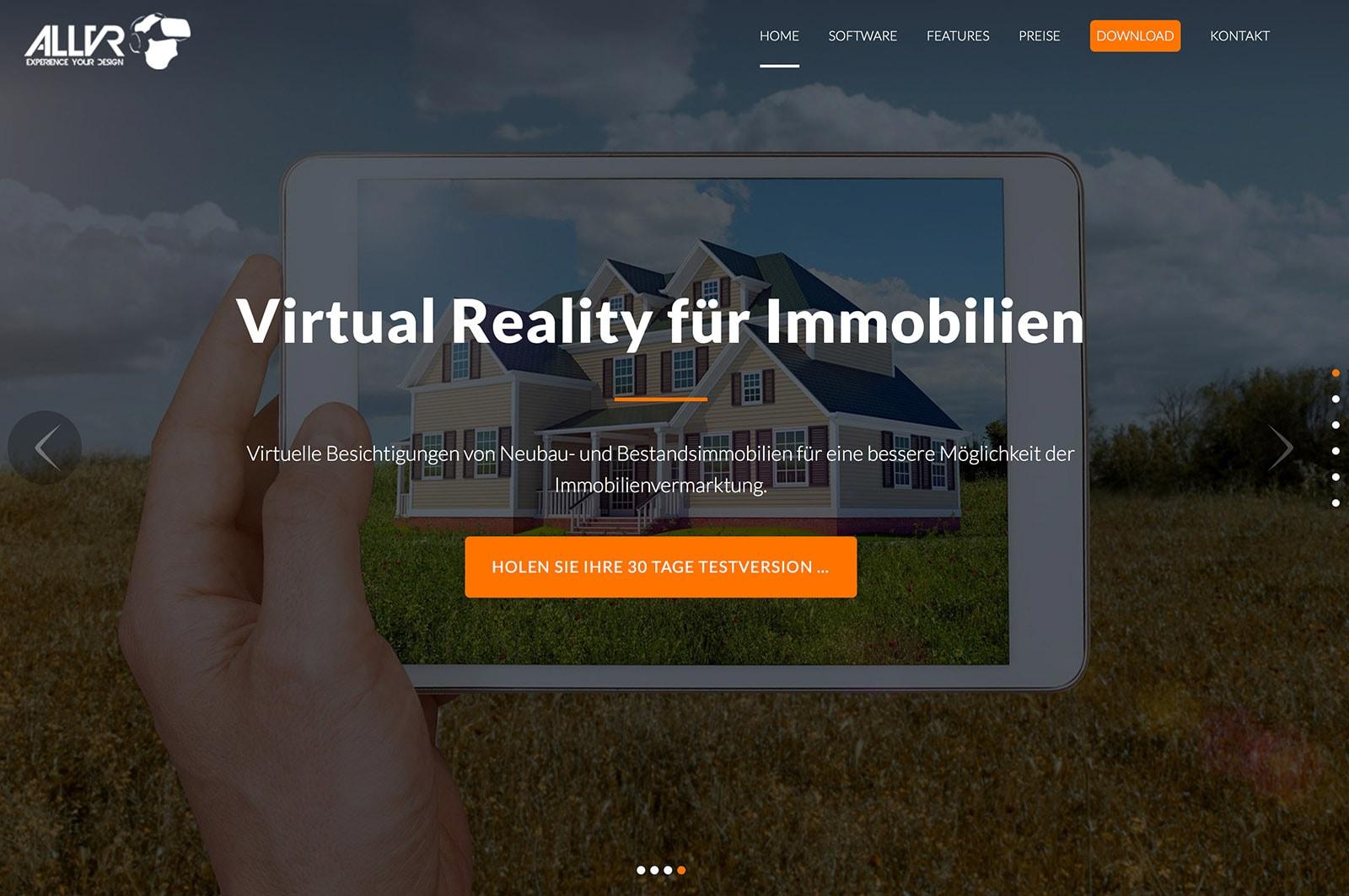Webdesign Berlin ALLVR