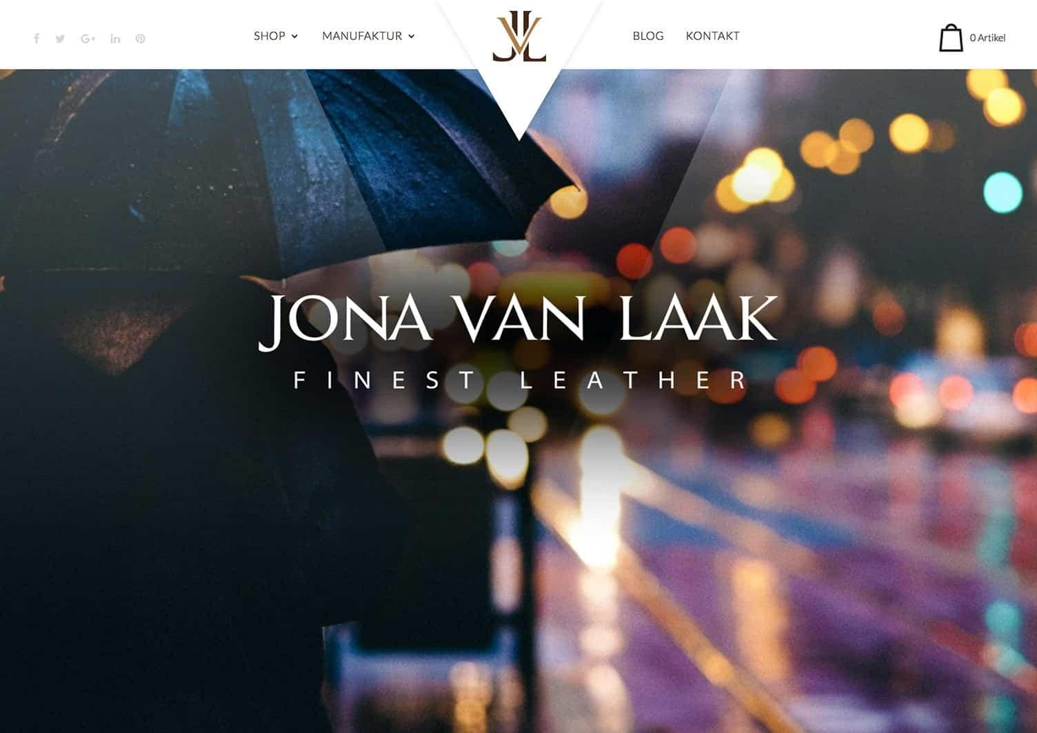 Webdesign Berlin Jona van Laak