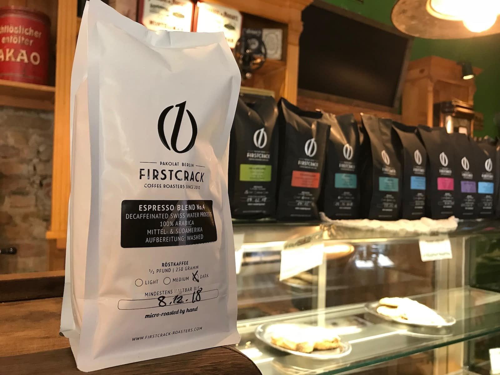 Verpackungsdesign Berlin - Firstcrack Coffee Roasters
