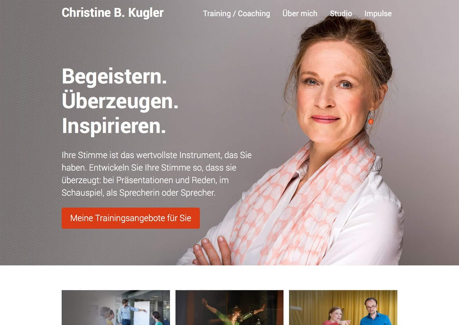Webdesign Berlin Christine Kugler
