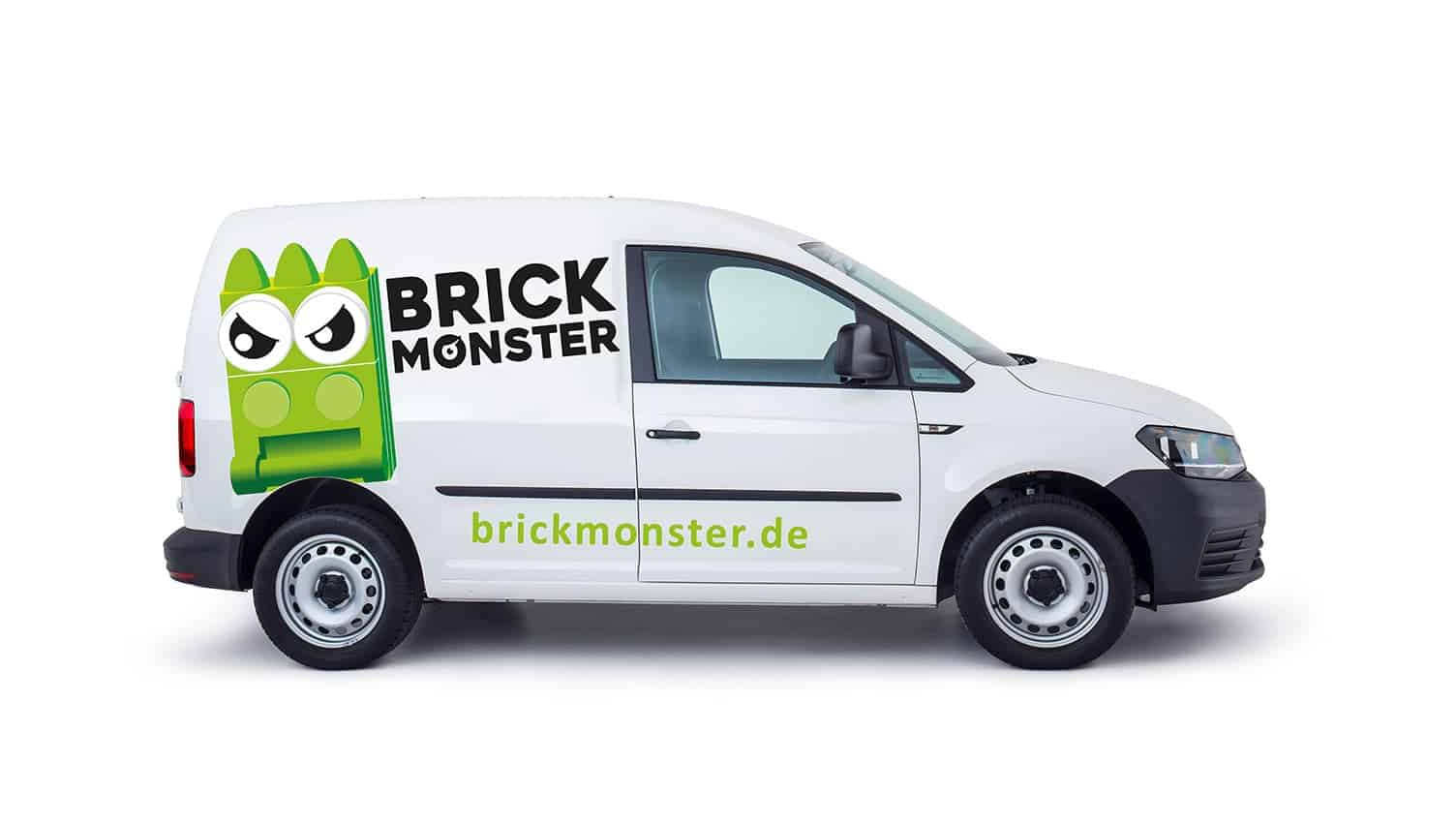 Logogestaltung Berlin Brickmonster
