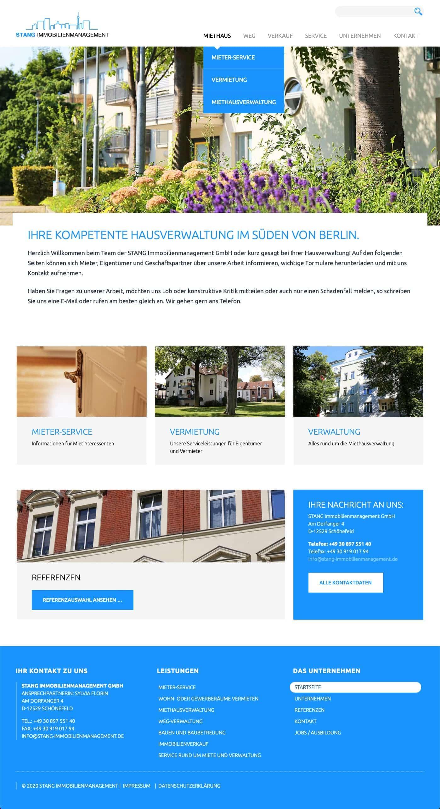 Webdesign Berlin Stang